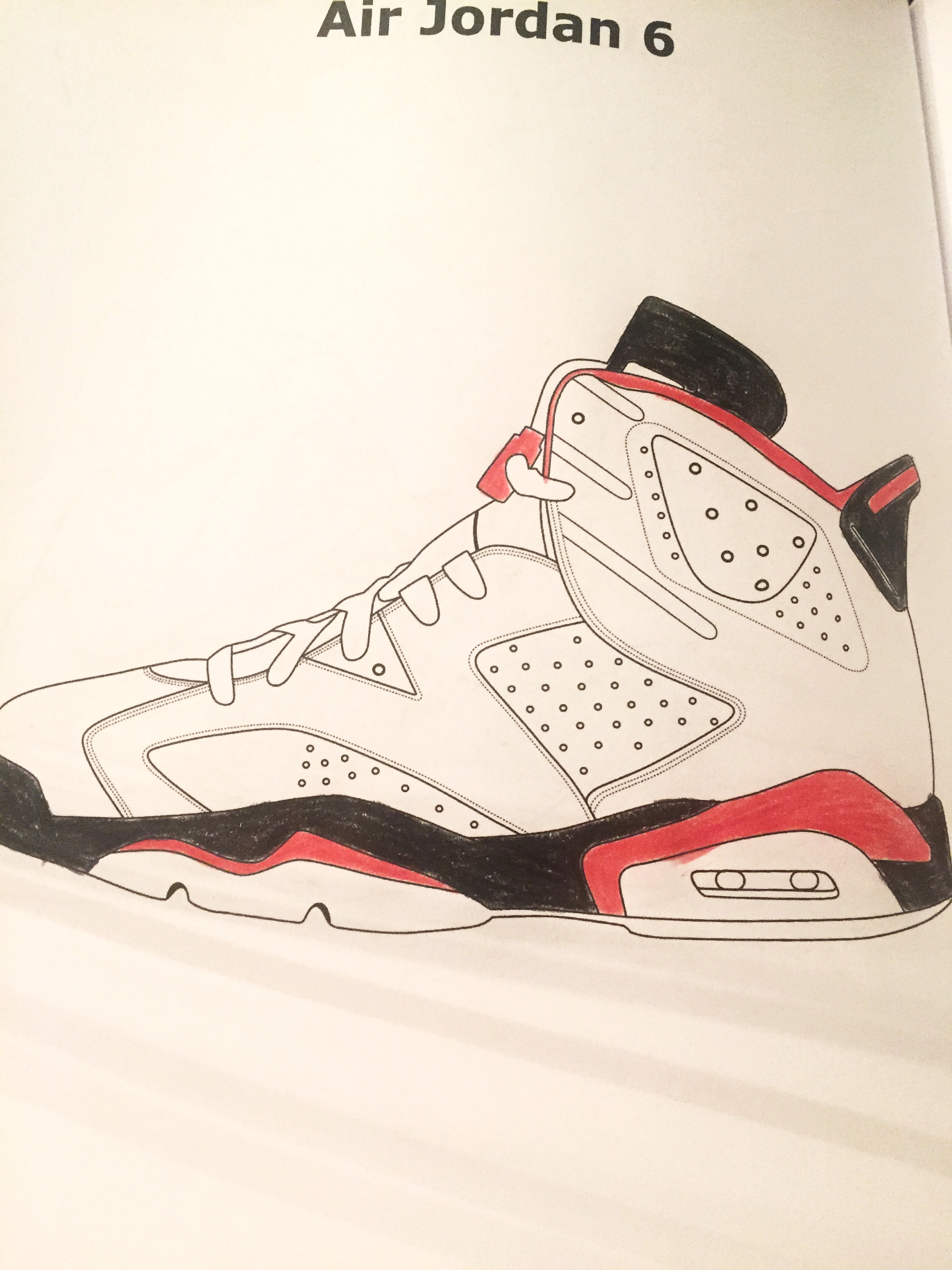 Free coloring pages jordan shoes - Free Coloring Pages Jordan Shoes 32